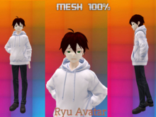 avatar anime mesh RYU