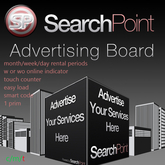 SearchPoint Ad board System W/WO Online Indicator, Advertising Adboard Vendors Advertisment