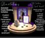 Slinvitations Custom Animated Purple Wedding Invitation