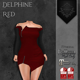 **Mistique** Delphine Red (wear me and click to unpack)