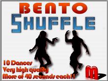 MocapAnimations Shuffle BENTO dance Pack!