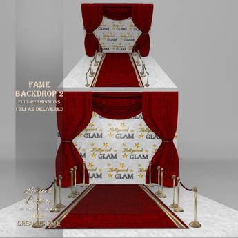 !Lyrical B!zarre Templates! - Fame Backdrop 2 MESH FP