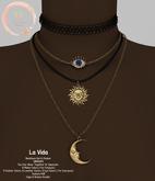 NaaNaa's La Vida Necklace set Gold [Wear Me]