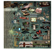 30 -DRD- Trailer Park - Plastic Chair Pack