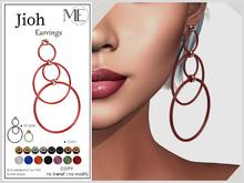 ME Jioh Earrings (v2)(Boxed. Wear me)