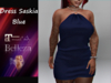 {RP} Dress Saskia Blue