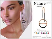 ME. Nature Earrings (Boxed. Wear me)