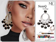 ME NemQ Earrings (Boxed. Wear me)