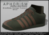!APHORISM! - Aria/Andy Vintage Trainers - Olive