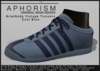 !APHORISM! - Aria/Andy Vintage Trainers - Cool Blue