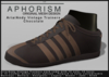 !APHORISM! - Aria/Andy Vintage Trainers - Chocolate