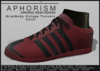 !APHORISM! - Aria/Andy Vintage Trainers - Chilli