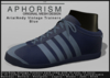 !APHORISM! - Aria/Andy Vintage Trainers - Blue