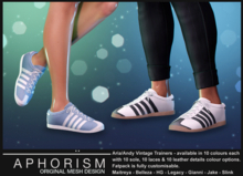 !APHORISM! - Aria/Andy Vintage Trainers - DEMO