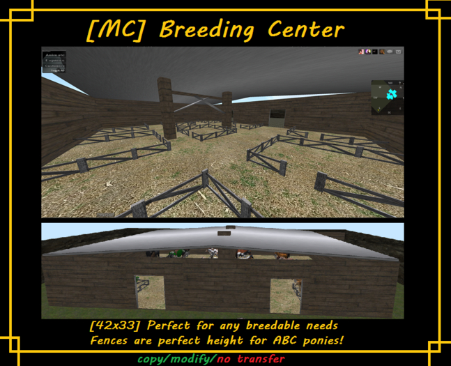[MC] Breeding Center [wear to unpack]