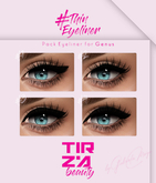 TIRZA BEAUTY #Thin Eyeliner @GENUS