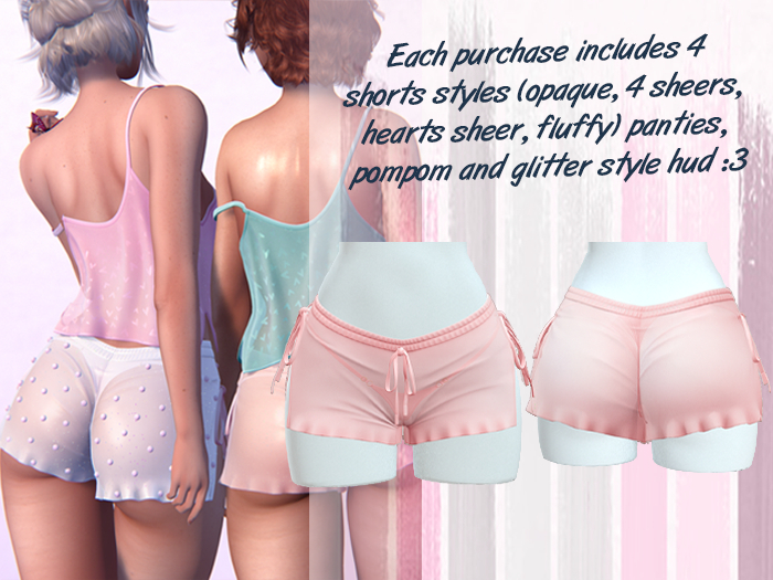 Lunar - Baby Shorts & Panties - Baby Pink (Boxed)