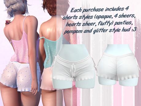 Lunar - Baby Shorts & Panties - White