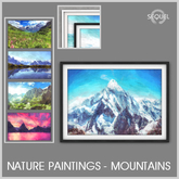 Sequel - Nature Paintings - Mountains