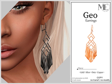 ME Geo Earrings v2 (Boxed. Wear me)