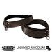 ::Static:: Bound Collar {Brown} Male