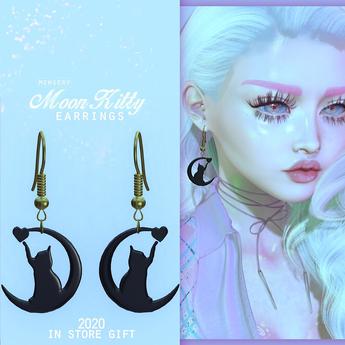 #Mewsery - MoonKitty Earrings [2020 Gift]