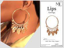 ME Lips Earrings v2  (Boxed. Wear me)