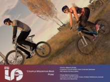 ACT5-528-Couple Mountain Bike Pose BOXED (ADD)