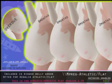[P] Mpreg/Preg Bellies - ATHLETIC/FLAT - REGALIA 1.75