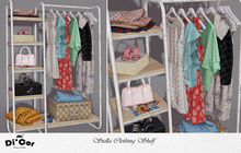 Di'Cor Stella Clothing Shelf