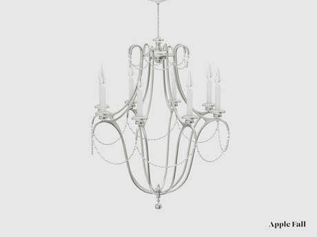 Apple Fall Pearl Chandelier