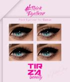 TIRZA BEAUTY #Thick Eyeliner @GENUS