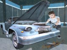 *SF* repair the car