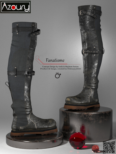 AZOURY -  Fanatisme {Male}
