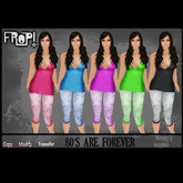 Frop! 80's are forever Leggins & Top Set - Stars