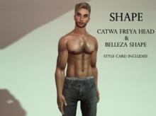Catwa Freya HEAD  Shape  Male
