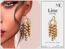 ME Line Earrings (Boxed. Wear me)