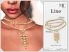 Market line necklace