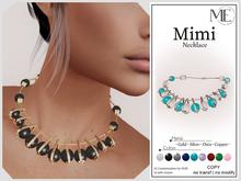 ME Mimi Necklace (Boxed. Wear me)