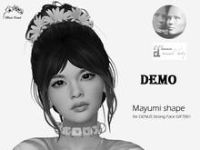 Mayumi shape - GENUS strong face GIFT001 & Maitreya DEMO