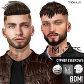 Modulus - Cypher Eyebrows - Lelutka Catwa & BOM
