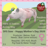 DFS Sow - Happy Mother's Day 2020