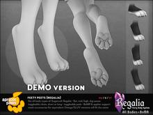 Apricot Paws: Feety Peets (Regalia): DEMO