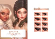 keikumu - melissa eyeshadows (OMEGA & BOM)
