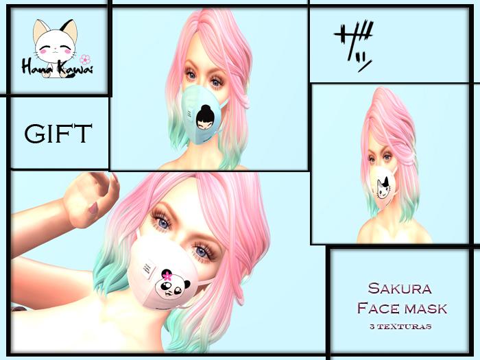 :Hana Kawaii: Sakura Face Mask fatpack