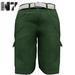 Nero - Gualtieri Cargo Shorts - Green