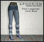 !APHORISM! - Fern Leggings - Cool Blue