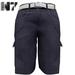 Nero - Gualtieri Cargo Shorts - Blue