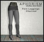 !APHORISM! - Fern Leggings - Charcoal