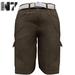 Nero - Gualtieri Cargo Shorts - Khaki